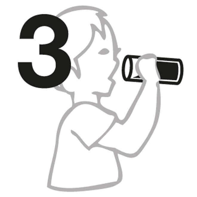 Instrucción de Decantadores de vidrio 3
